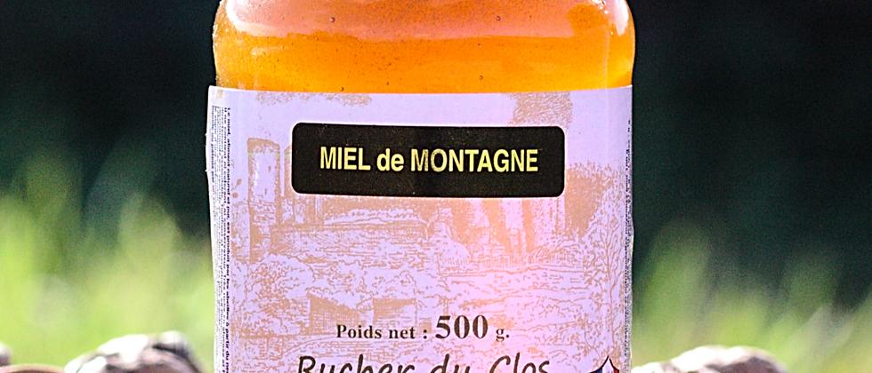 Miel de Montagne 500 gr
