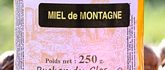 Miel de Montagne 250 gr