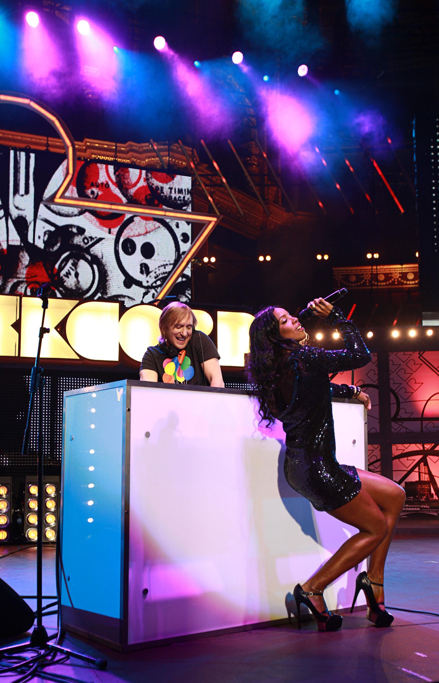 David Guetta and Kelly Rowland
