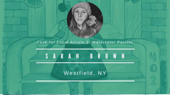 Sarah Brown, Watercolor Painter