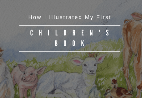 How I Illustrated My First Children's Book