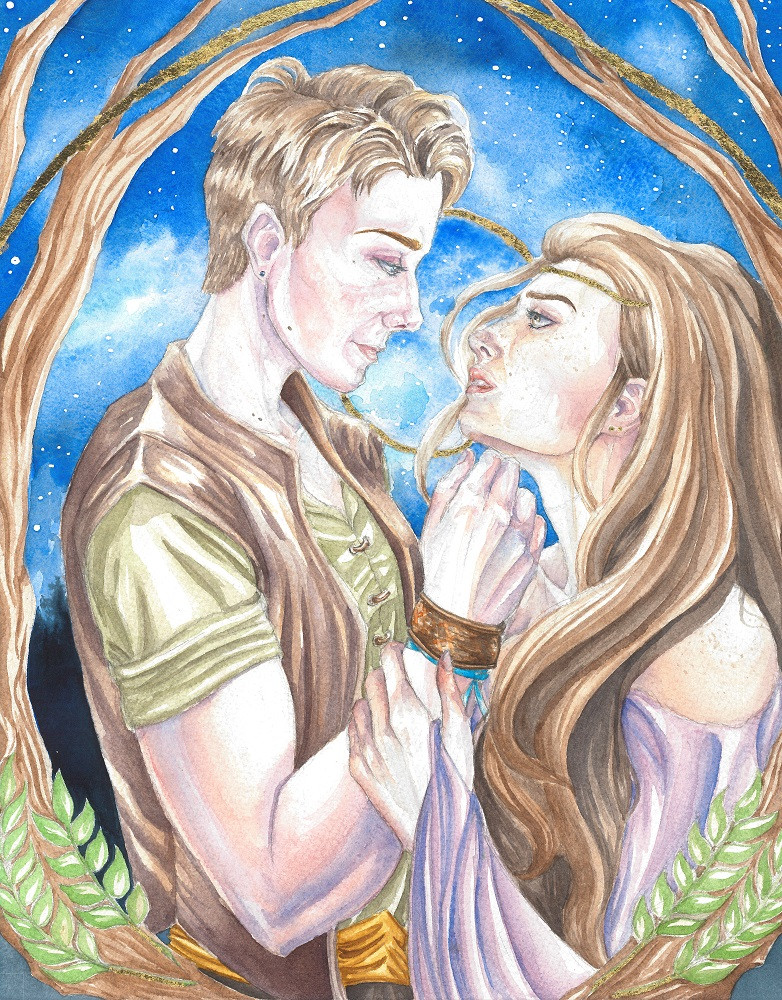 Rosamund and Talia