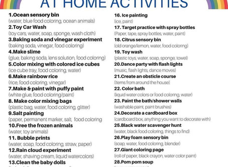 Activities without Screens