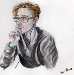 Self portrait at 31