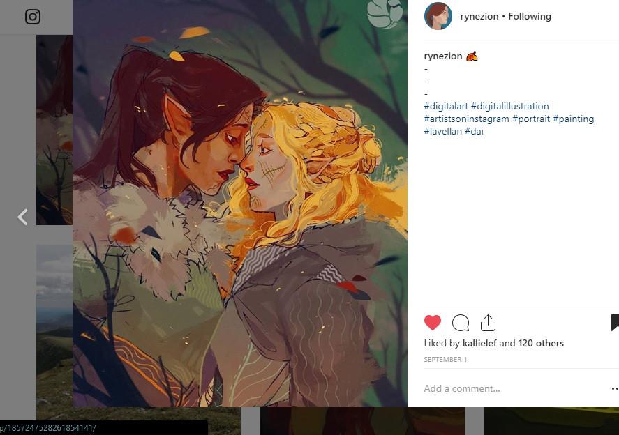 @Rynezion on Instagram