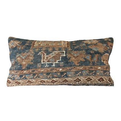 Turkish Lumbar Kilim Pillow Cover