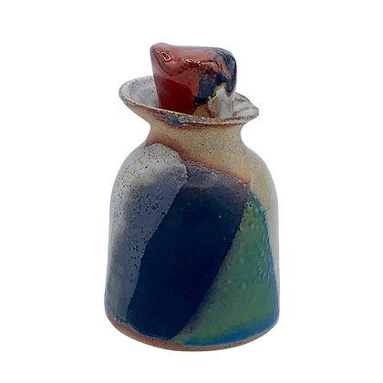 Ceramic Vinaigrette Bottle