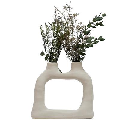 Dual Grande Ceramic Vase