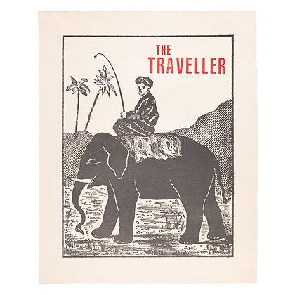 The Traveller Wall Art Print