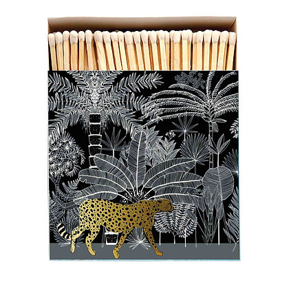 Gold Leopard Luxury Matches