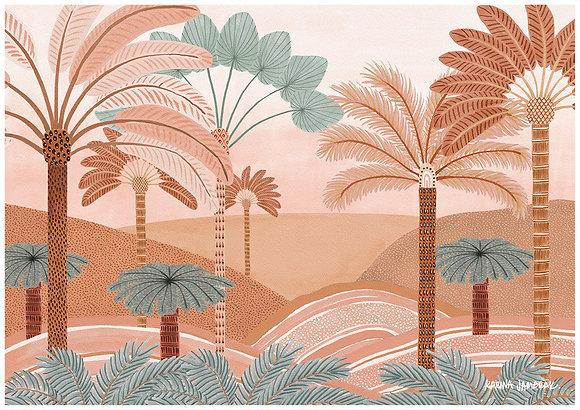Karina Jambrak Glistening Lands Wall Art Print
