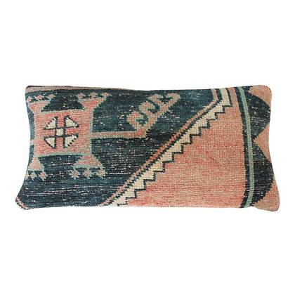 Turkish Lumbar Kilim Pillow Cover