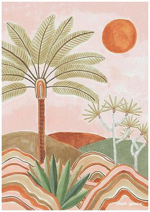 Karina Jambrak Pastel Vista Wall Art Print