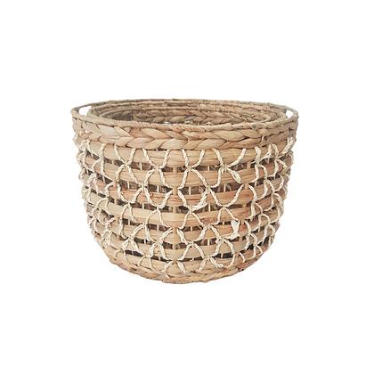 Open Weave Nesting Basket by Hestia