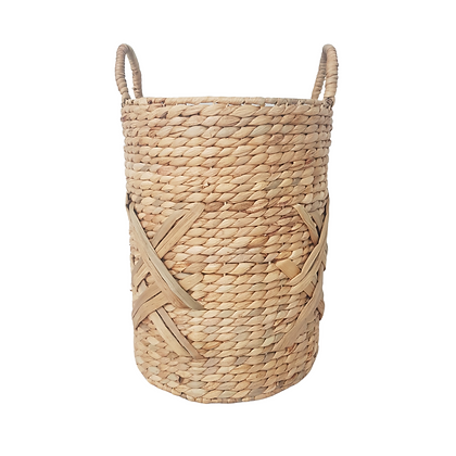 Criss-Cross Basket with Handles by Hestia