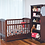 Thumbnail: Touchwood Meadow 4 In 1 Safety Cot