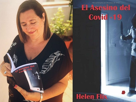 "Entrevista a Helen Flix sobre el libro ""El asesino del Covid-19"""