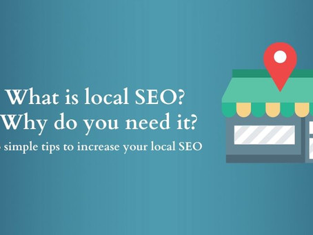 What is local SEO? Why do you need it? 3 simple tips to increase your website's local SEO traffic.