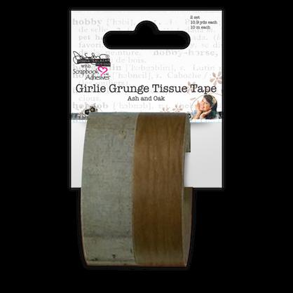Girlie Grunge Tissue Tape - Oak&Ash