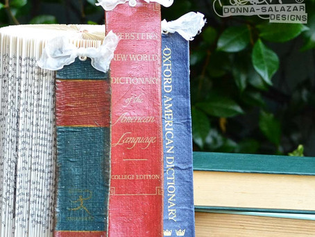 "Easy ""Vintage Book Spine"" Projects by Donna Salazar"
