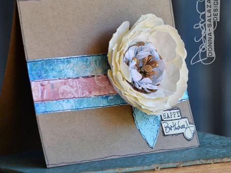 Birthday Card For Adee by Donna Salazar