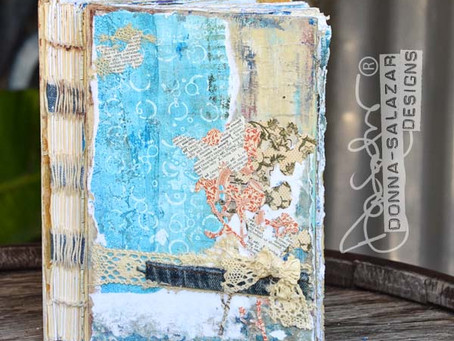 A FINISHED Art Journal by Donna Salazar