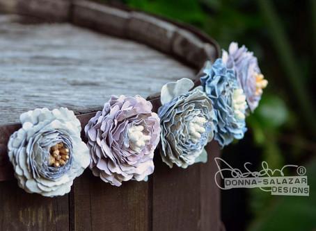 Fridge Flowers by Donna Salazar for Spellbinders