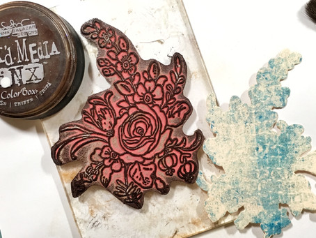 A Fun Stamping Technique by Donna Salazar