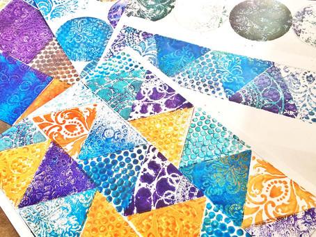 Petite Mosaics by Donna Salazar