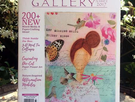 Donna Salazar's Somerset Studio Gallery Article Summer 2017