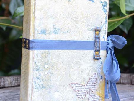 Fancy Schmancy Notebook by Donna Salazar