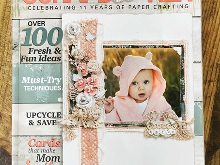 Creative Scrapbooker Magazine Spring Issue Giveaway