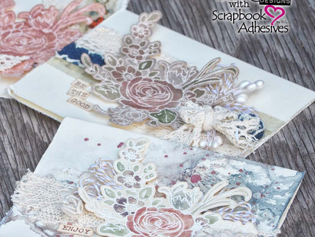 FREE 3-In-One Girlie Grunge Card Class By Donna Salazar