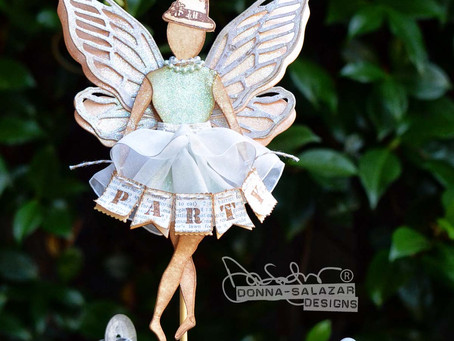 "DIY ""Fairy Party"" Art Doll by Donna Salazar"