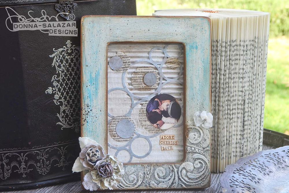 Girlie Grunge Frame - Donna Salazar