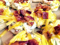 Jalepeno Popper Pizza Appetizers