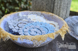 DIY Lace Bowl