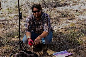 """Jordan Kinter behind the scenes of """"Survive."""""""