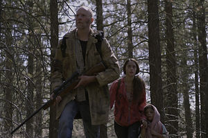 """Steve Chivers, Cait Engler and Hadassah Shaheen in """"Survive."""""""
