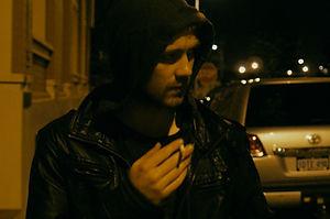 """Baden Harris in """"Strangers."""""""