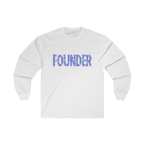'Founder' Long Sleeve Tee