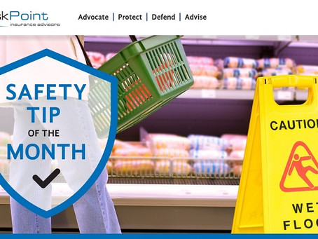 Prevent Slips, Trips and Falls in Your Grocery Store
