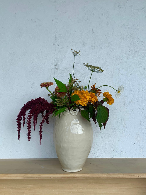 Vase with Circle Design