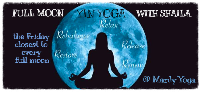 Full Moon Yin Yoga Workshop