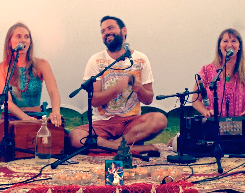 kirtan at The Village Farm
