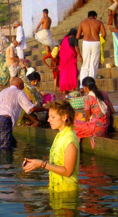 surya water tantra Varanasi