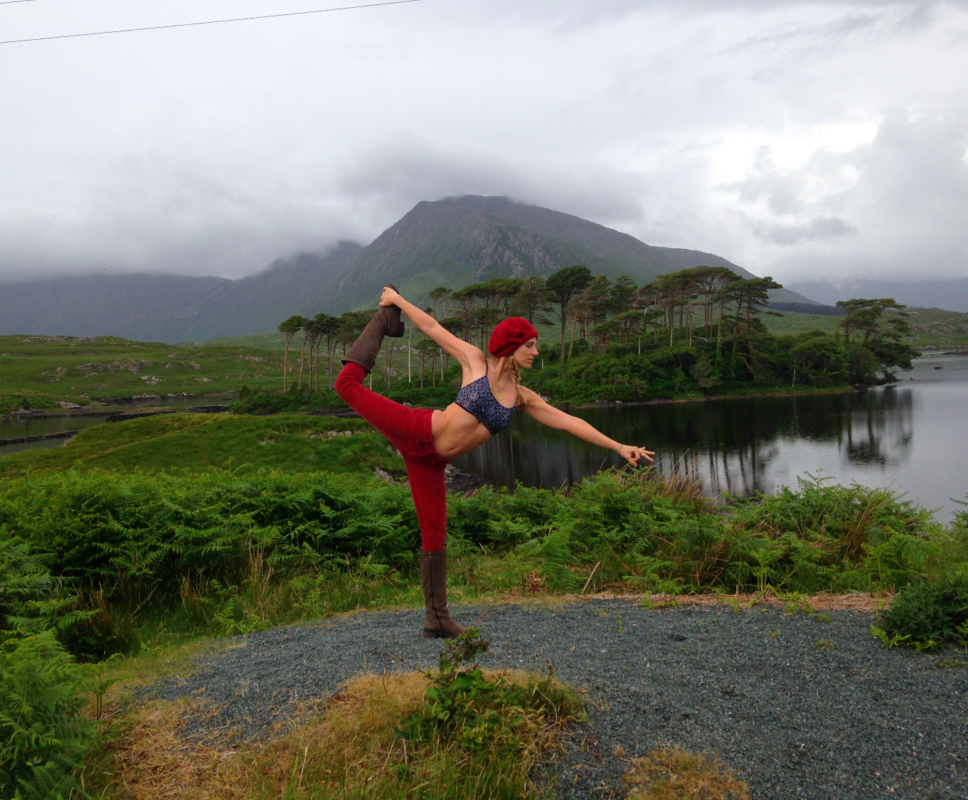 yoga at Connemara