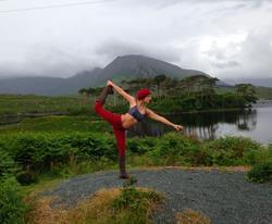 yoga at Connemara