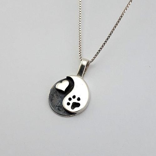 Colar Pet Yin Yang