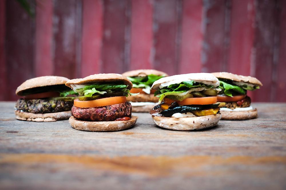 MANA! plant-based burgers